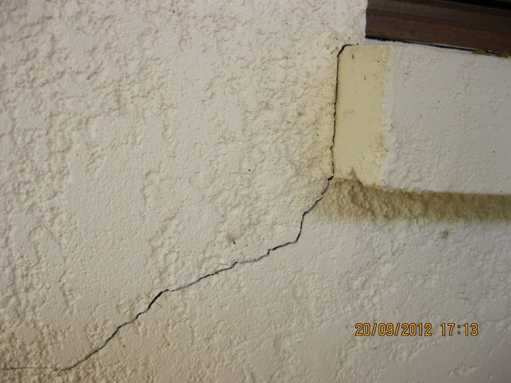 expertise fissure sur mur